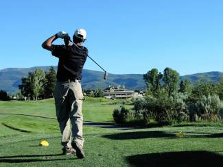 In a sign of spring, the Gypsum Creek Golf Course front nine is open for play. Golfers can also shake off the rust at the driving range.