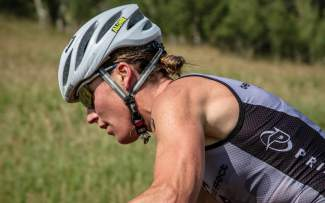 Jaime Brede at a recent XTERRA off-road triathlon. The Summit County-based pro triathlete and mountain biker comes to the Frisco Peninsula for three women's-only clinics this summer on June 9, June 30 and July 21.