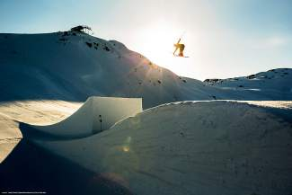 Whistler, British Columbia in the finale of
