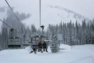 Copper Mountain reported 7 inches of new snow for Tuesday, March 15, adding to its slightly below-average total for the 2015-16 season. The resort averages about 305 inches per year, but current stands at 196 this season.