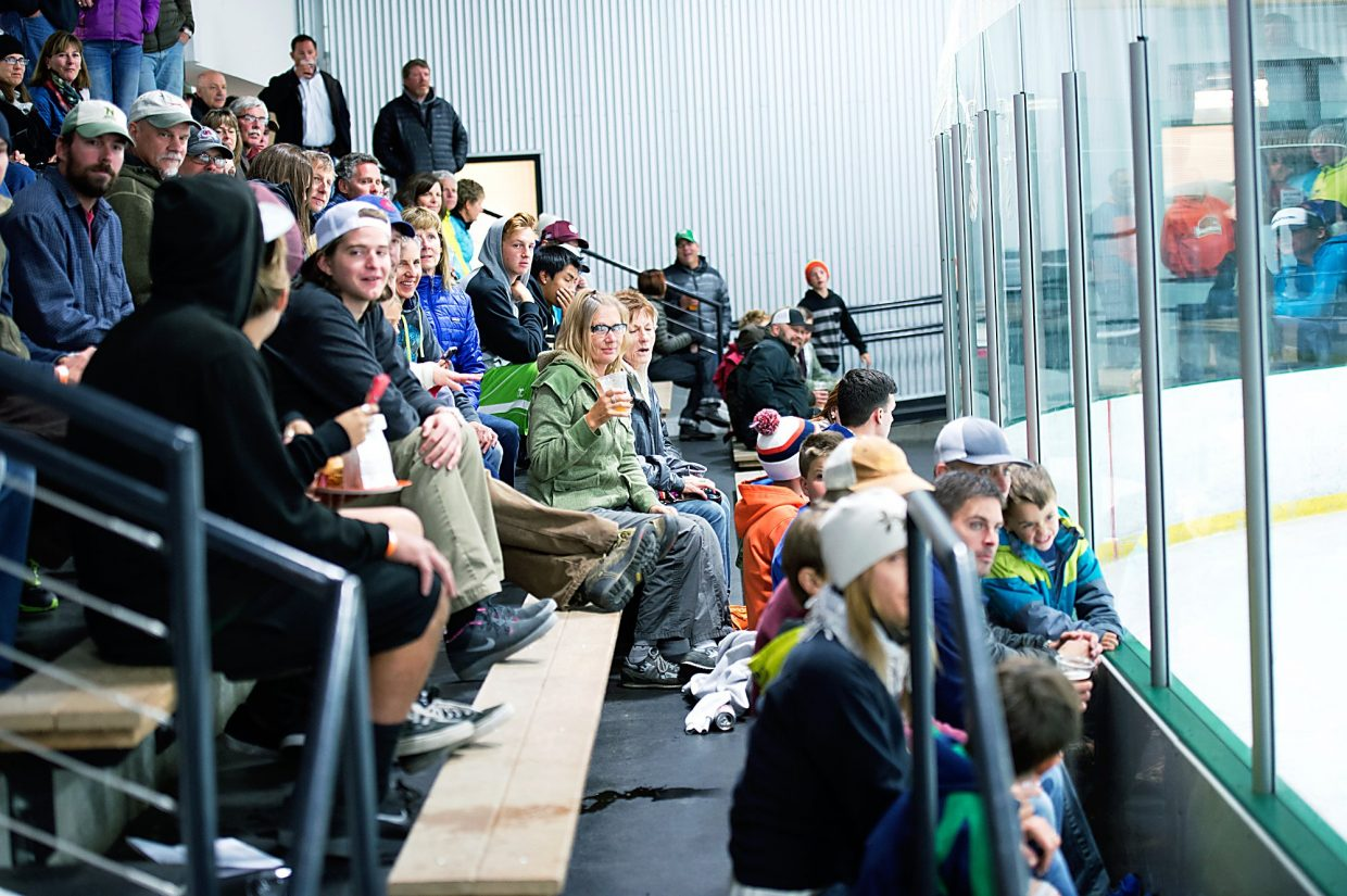 A packed house at a Breck Bucks junior hockey game during the team's inaugural season last winter. This season, the Bucks have been replaced with a new team, the Breckenridge Bears, and will likely feature a slate of the same players from the inaugural team.