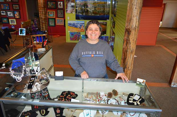 Owner of a Borgata Pennie Gaudi opened her first store in Conifer in 2013 with 25 artists. She is now opening her fourth store in Silverthorne and has over 400 artists in her shops.