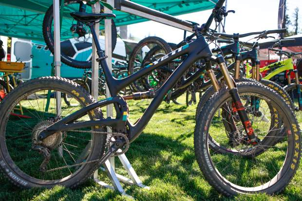 The Yeti SB5 Plus was one of the many Yeti bikes to demo during the Outlier Offroad Festival, Sept. 9-11, in Vail. The festival allowed consumers to get lift-accessed demos to the newest bikes before they hit the market.