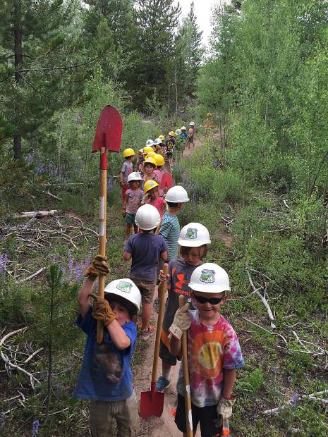 About one-third of work completed by the Friends of the Dillon Ranger District this summer was conducted by youth groups either from the region or who make the trip from places like Denver, Boulder and Colorado Springs. This winter, FDRD will expand on the youth education component of its programming.