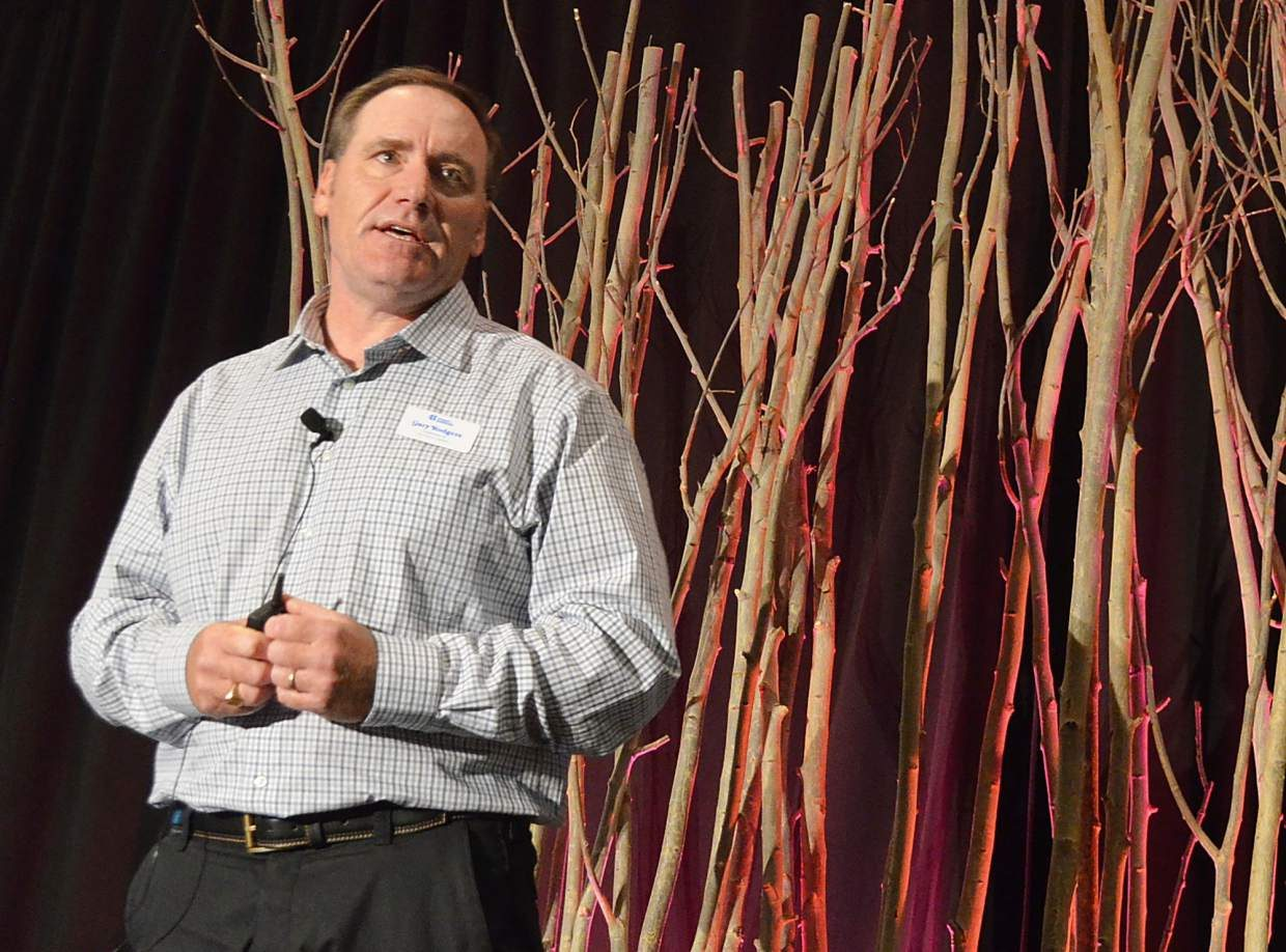 Gary Rodgers, president and COO of Copper Mountain Resort, functioned as host of the annual breakfast of the region's c-level ski leaders on Tuesday morning, Oct. 4.