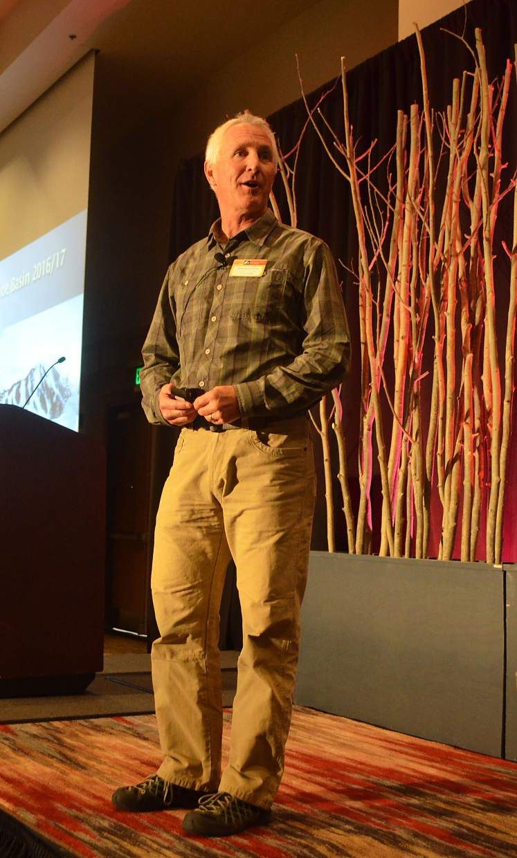 Arapahoe Basin Ski Area COO Alan Henceroth told an audience at the annual COO breakfast that staying authentic to its roots as a favored winter destination, as well as sustainability and community involvement, are some of A-Basin's chief goals into the future.