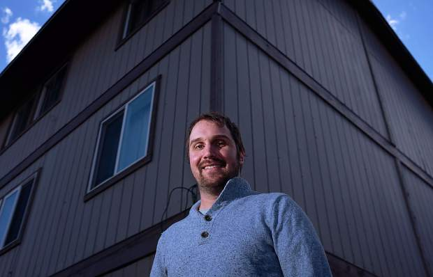 Eric Ojala says he has seen the rental market squeez firsthand, with more and more prospective tenants desperate to find a place to live.