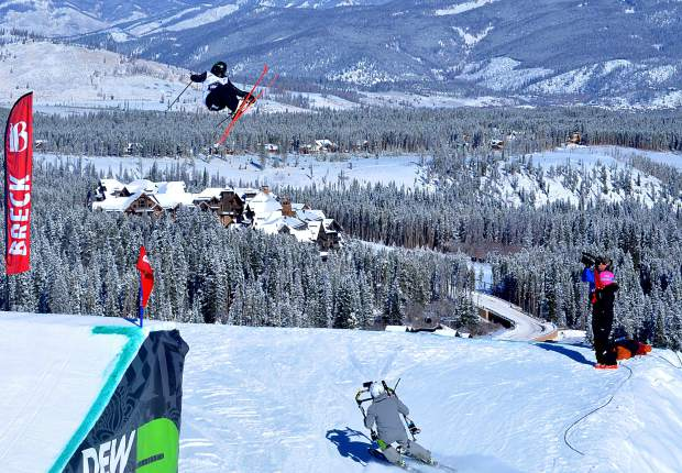 New Zealand's Jossi Wells competes in the men's Dew Tour freeski slopestyle in 2015 at Breckenridge. Wells returns with a slate of Olympic-caliber competitors to the reimagined Dew Tour from Dec. 8-11.