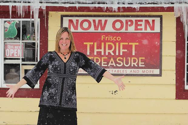 Leslie Newcomer opened Frisco Thrift and Treasure at the beginning of December. It's currently the only secondhand store in town.