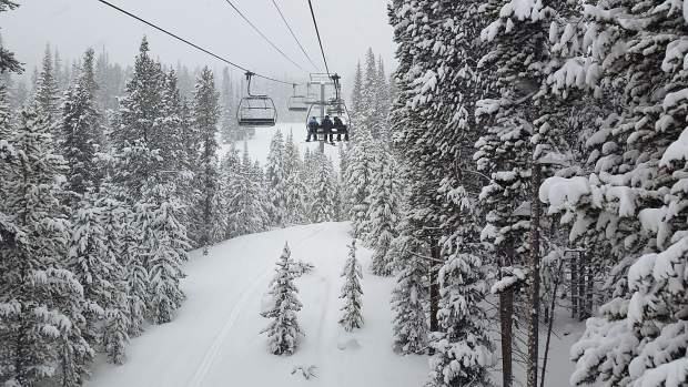 Copper Mountain Resort reported 15 inches for its 72-hour storm totals.
