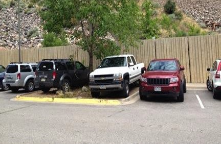 Warm weather this spring has led to summer problems including illegal parking near the Hanging Lake trailhead.