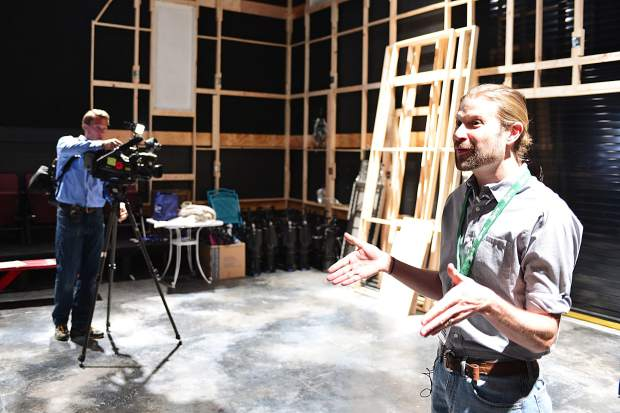 Joshua Blanchard, executive director for the Lake Dillon Theatre Company, talks about all the features of The Studio, the second largest of three performance areas inside the new Silverthorne Performing Arts Center.