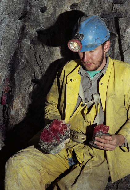Colorado gem hunters are back near Alma mine that was once a