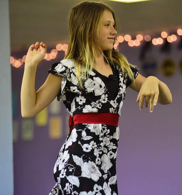 Kristina Fedynska dances Saturday at Alpine Dance Academy during a dress rehearsal before this Friday's show in Breckenridge.