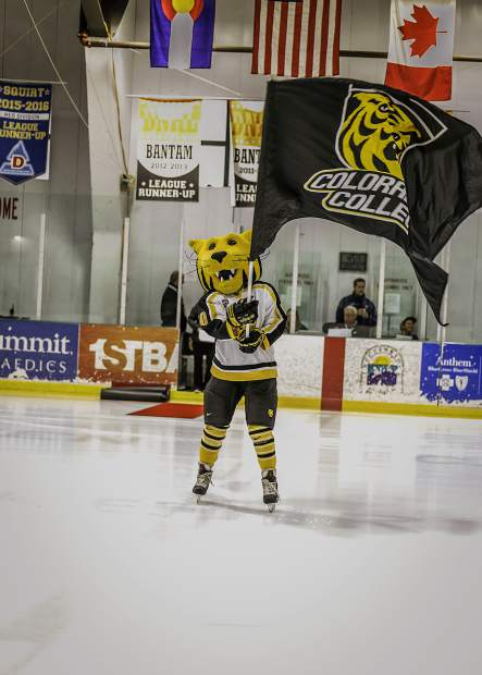 Prowler, the Tigers mascot, energizes the crowd.