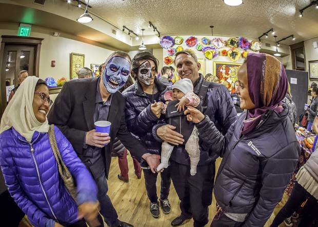 Day of the Dead celebration.