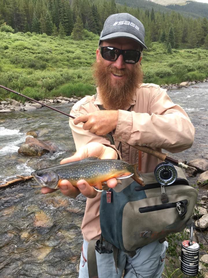 Allen Stretton, second place Best Fly Fishing Guide
