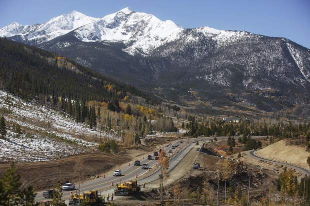 Winter is right around the corner and also the biggest impediment for completion of the State Highway 9 Iron Springs realignment in Frisco. Crews with SEMA Construction must finish the project by Dec. 31 or potentially face hefty fines from CDOT.