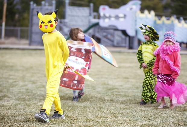 Frisco Elementary School students in costumes Friday, Oct. 27, in Frisco.