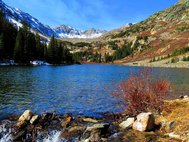 A crisp fall day by Blue Lakes, just north of Hoosier Pass on Wednesday, Oct. 18.