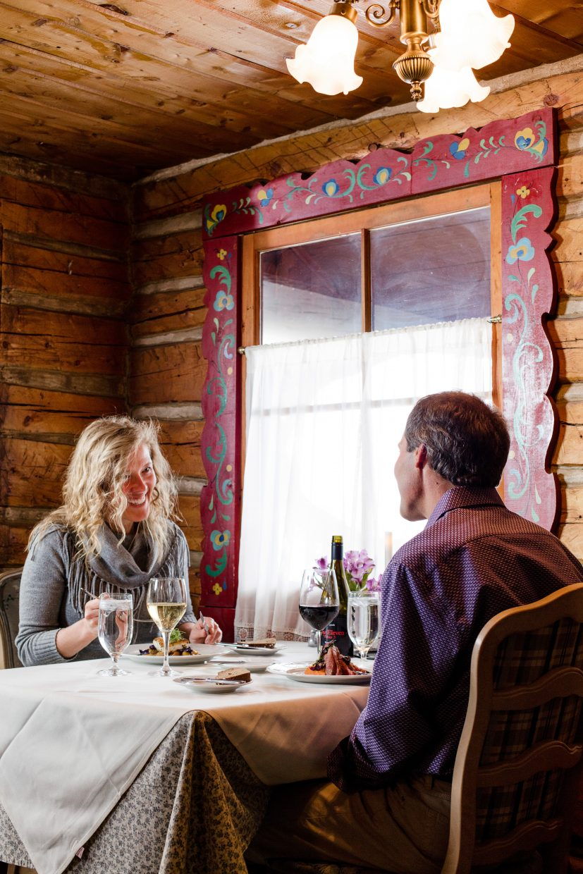 Ski Tip Lode won first for Best Place for a Romantic Date.