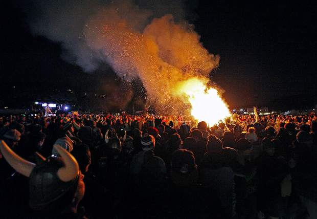 The Ullr Bonfire has become a wintertime tradition in Breckenridge, helping people discard their Christmas trees while honoring Ullr, the Norse snow god, at the same time in hopes Breckenridge has a good, snowy season. This year's bonfire will be from 5-7 p.m. Thursday.