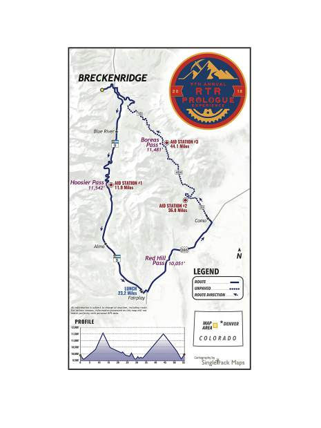 This year's Ride The Rockies