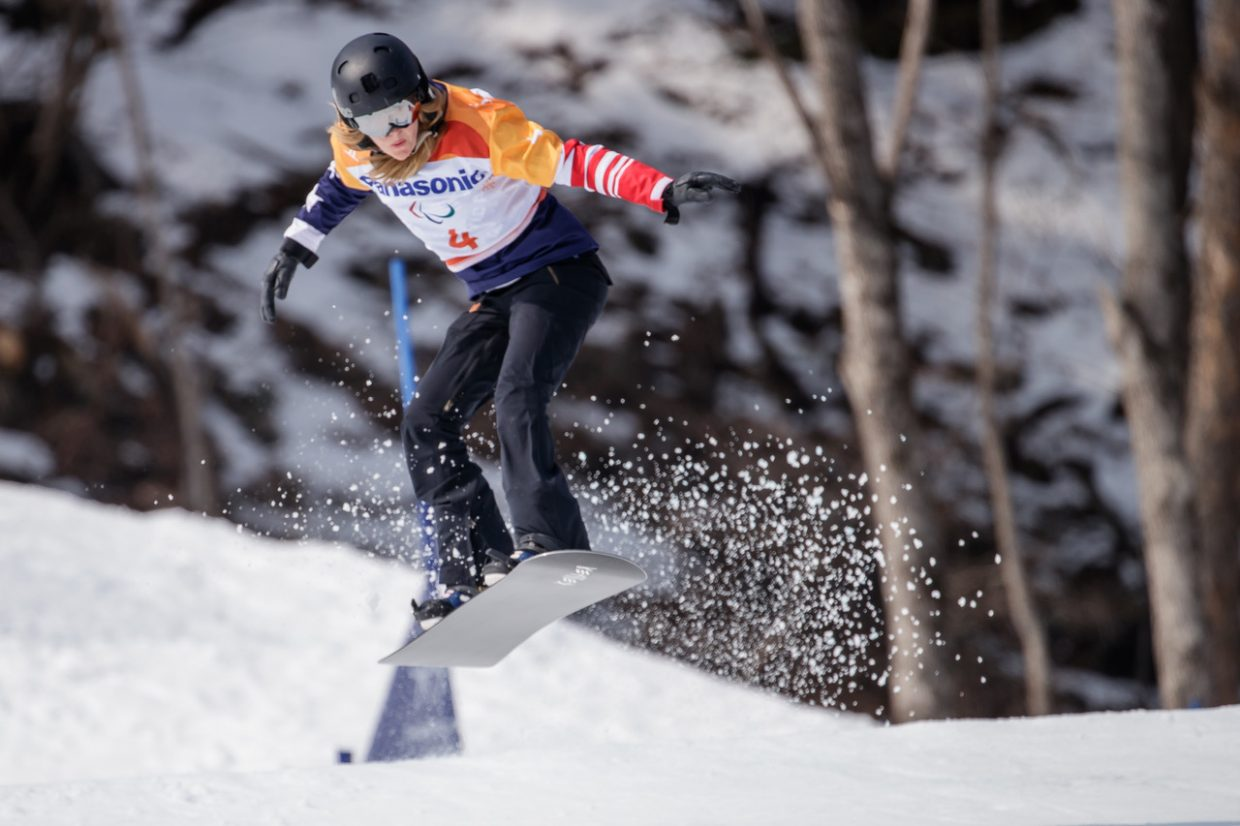 Silverthorne's own Amy Purdy won a silver medal on Monday in the Women's Snowboard Cross at the Pyeongchang 2018 Paralympic Winter Games.