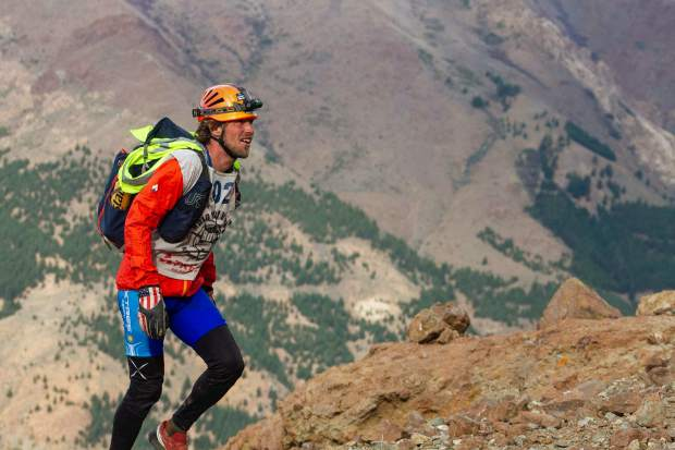 Summit County local Olof Hedberg ascends Patagonian mountains during his team's