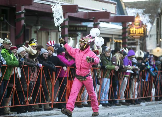 Scenes from the Ullr Fest Parade Thursday, Jan. 11, on Main Street in Breckenridge.