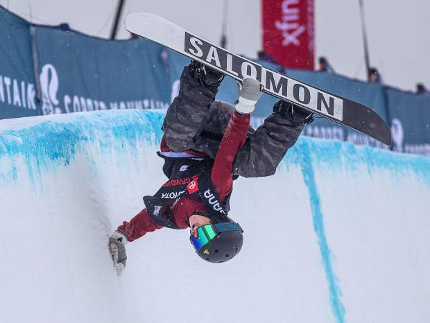 Jack Coyne in the Toyota U.S. Grand Prix qualifiers Thursday, Dec. 6, at Copper Mountain.