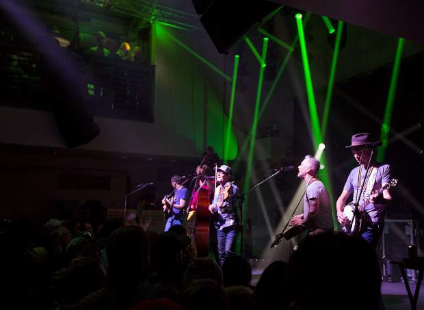The Infamous Stringdusters perform Friday, Dec. 28, inside the 10 Mile Music Hall in Frisco.