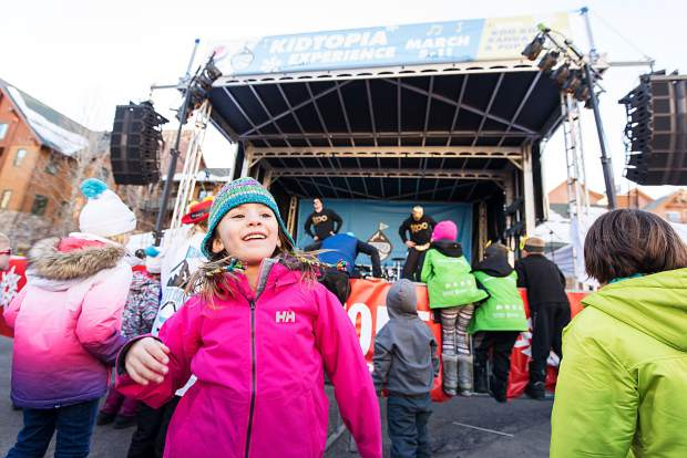 The Kidtopia Music Experience runs from March 1-10 and features free daily Kidtopia activities, outdoor music performances, pop-up concerts and firework displays.