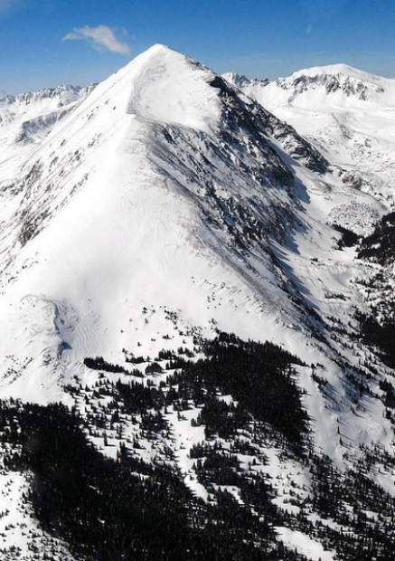 Backcountry skier died Sunday on Quandary Peak