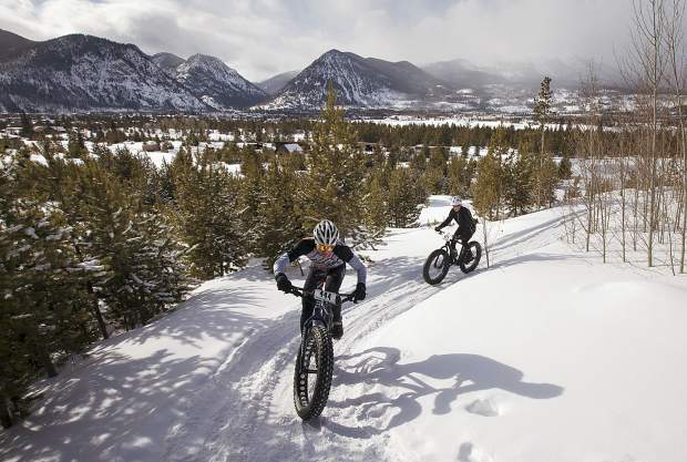 Photos from the third annual Frisco Freeze Fat Bike Race