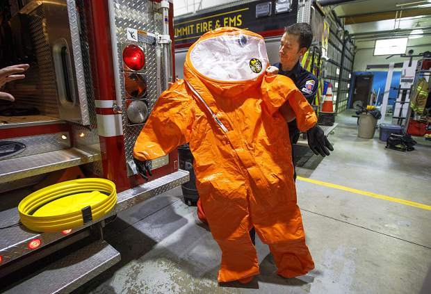 On the front lines of Summit County's hazmat response