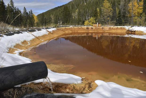Arsenic, lead in water pouring out of former US mine sites