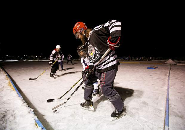 Photos from the Pabst Pond Hockey Tournament