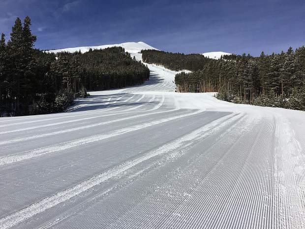 The Breck groomers are really doing a super job this season.