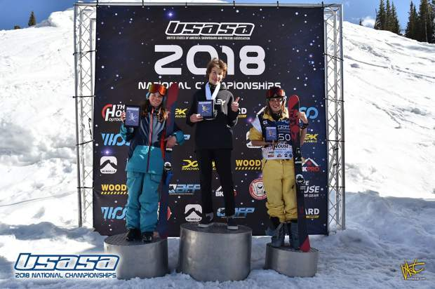 Breckenridge freeskiers, snowboarders shine at USASA Rocky Mountain slopestyle competitions