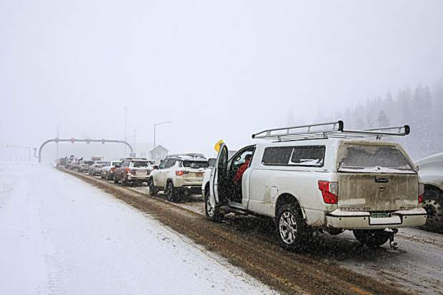 Summit County officials say heavy weekend traffic hindering