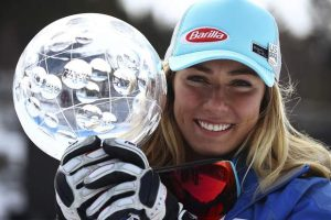 So is Mikaela Shiffrin the GOAT of skiing yet?