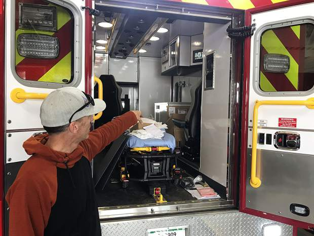 Drew Hoehn provides a look inside the Red, White & Blue's new ambulance. The new vehicle is all-hazard, meaning it's equipped to handle medical emergencies and assist in fires. The ambulance also has upgraded safety features, along with new design nuances such as a ski and snowboard compartment for patients taken off the slopes.