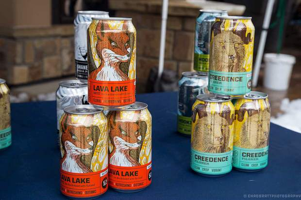 One of the many breweries present at the festival will be Edward's Crazy Mountain Brewery Company. They'll feature their Creedence Pilsner.