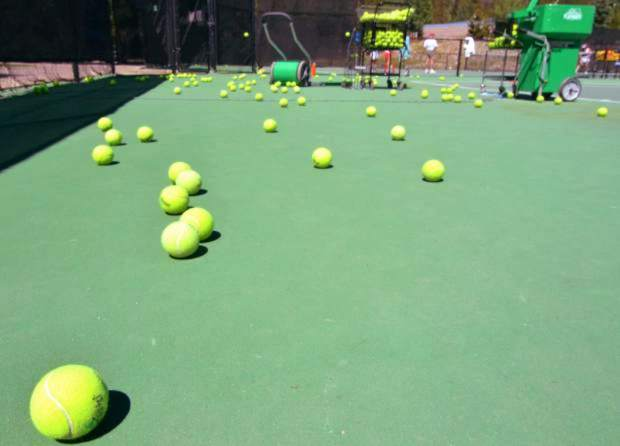 Dillon signs contract for tennis court improvements
