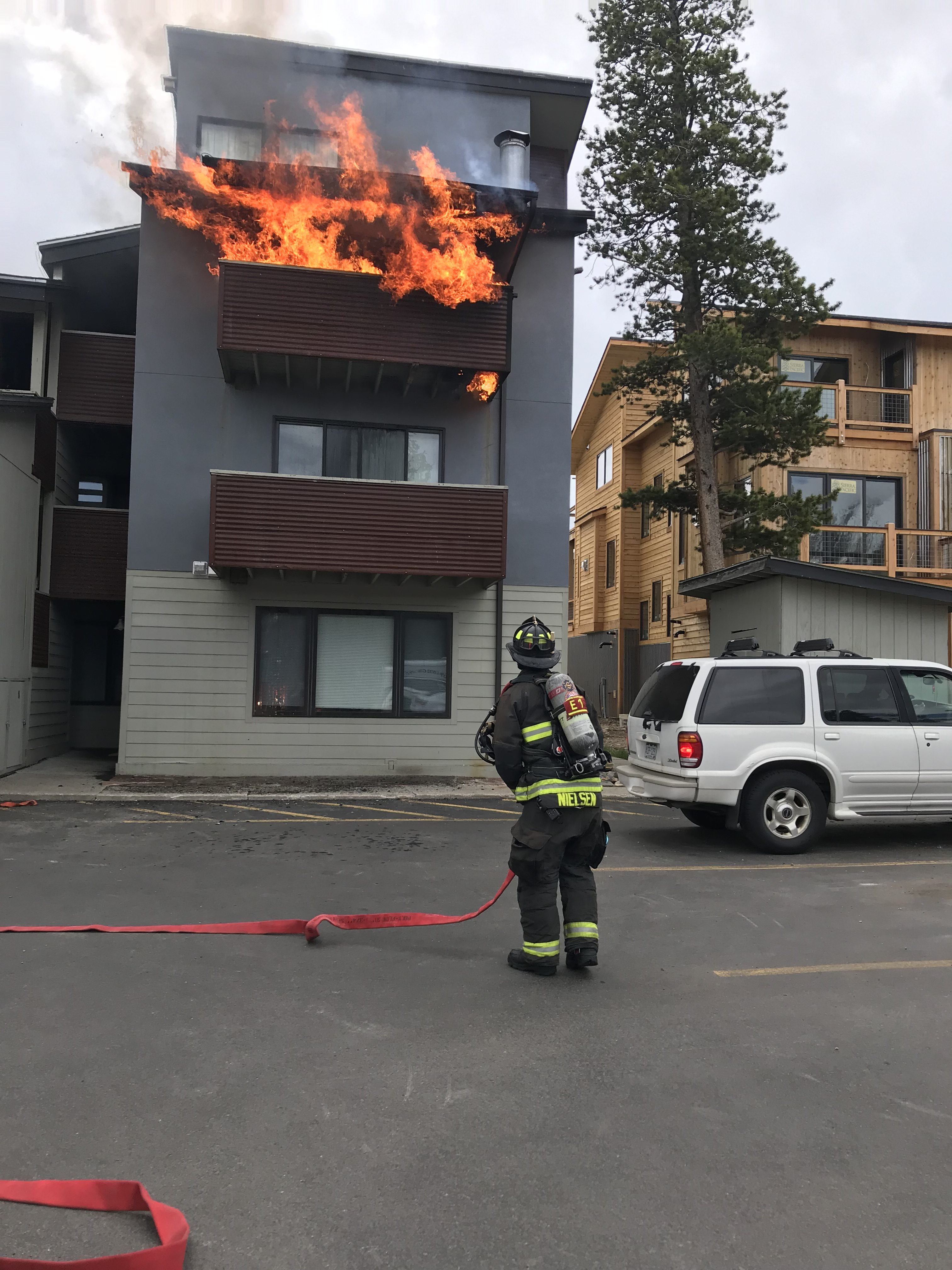 Structure fire in Frisco displaces six
