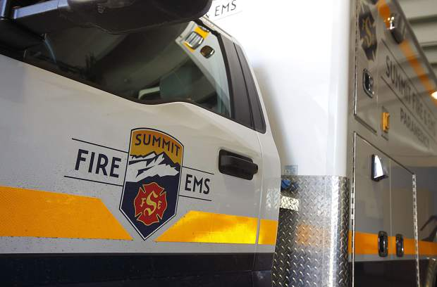 Summit Fire and EMS ambulance inside Station 10 Wednesday, June 12, in Silverthorne.