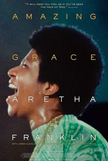 "For June's Summit Film Society screening, the Breck Film Fest is bringing the concert film of Aretha Franklin's hit gospel album ""Amazing Grace"" to Breckenridge."
