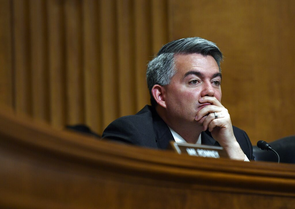 Gardner had good news for Colorado. But Trump had tweets.