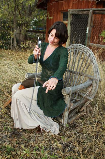Bonnie Paine of Elephant Revival will join Jayme Stone's Folklife on Saturday, Aug. 3, at 7:30 p.m. at the Riverwalk Center.